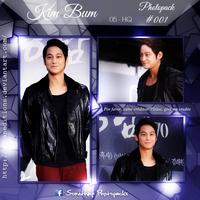 +KIM BUM   Photopack #OO1 by AsianEditions