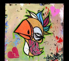 Aint No Love Bird by soldierofsolace