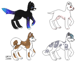 Canine Adopts - 2/4 - OTA - Open! by Deviadopts
