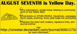 Yellow Day Info by Irish-Minstrel