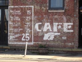 Cafe Sign for Prints. by EMGrapes