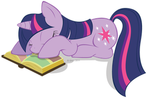 Sleepy Twilight by LittleHybridShila