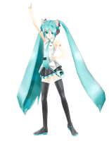 .: DL Series :. Hakutorii Regular Miku Hatsune by Duekko