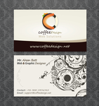 Coffeedesign card v2 by ahsanpervaiz