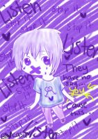 Stop it and Listen Spirit Day by Kasuminumi