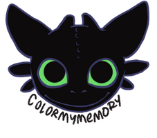 Toothless - smile by ColorMyMemory