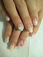 star nail art by Madhurupa