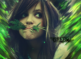 GreenSmudge by sNakyGFX