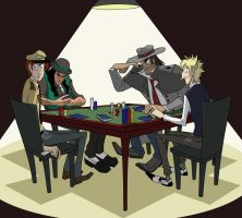 Nigota Poker Night by ZiBaricon