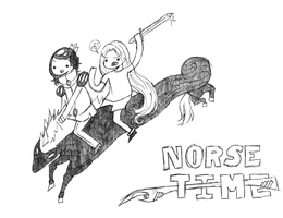 Norse Time by michfranc