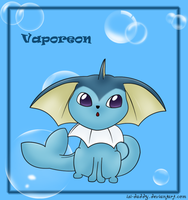 Vaporeon by Isi-Daddy