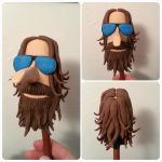 Bearded Fellow Doodle Sculpt by Troy-Stith