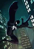 Amazing Spider-man 2012 - Black by Juggertha