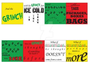 Grinch Typography by Lish-55