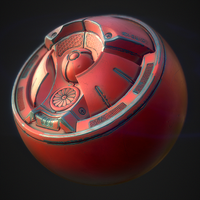 PBR Smart Material - Painted Metal by PLyczkowski