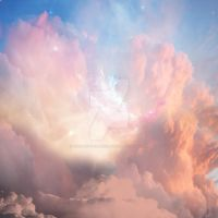 Pre-made Background Stock - Cloudy Sky 2 by theartofdarrenvannoy