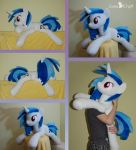 Vinyl Scratch BIG beanie by LanaCraft