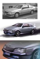 Opel Monza 1982 by the9oodbyeman