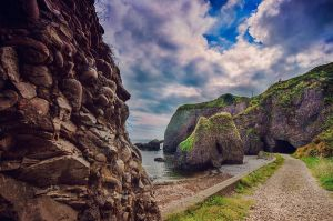 Cushendun Caves by marinsuslic