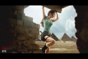 Tomb Raider 4 cosplay by KidaKiss