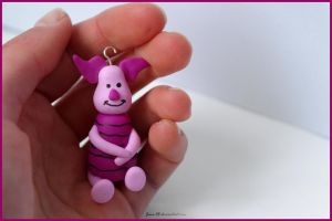 Polymer Clay - Piglet by Jane-Rt