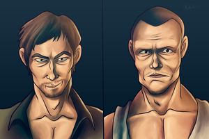 Walking Dead: Dixons by Neptune-Nonsense