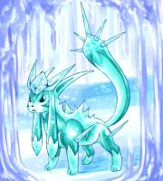 Glaceon Crystaleyzeon by cerasly