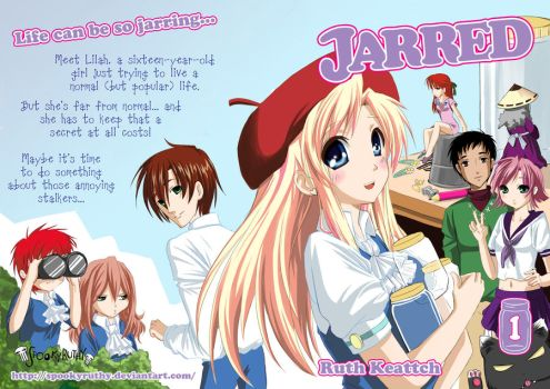 Jarred Volume 1 Cover by SpookyRuthy