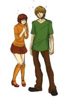Velma and Shaggy by SchifferCake