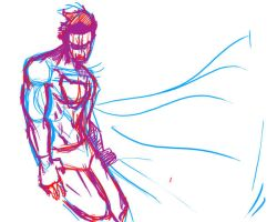 Working on Superman by Ranx-88