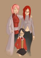 Shipping war plot twist sarada mum and mother by Aresielle