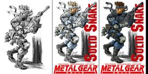 Solid Snake by mistermoster