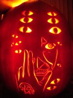 Hellsing Pumpkin Carving by DistantVisions