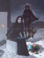 The Fifth Painting Of Jie Xia by kolaboy
