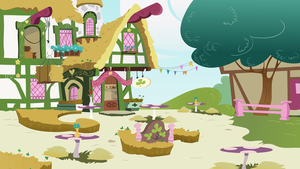 Ponyville P3 BG16 by oxinfree