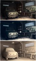 Garage by Omessler