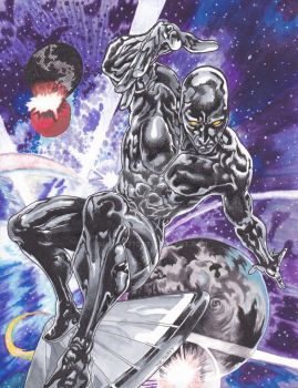 Silver Surfer by sHoRtY773