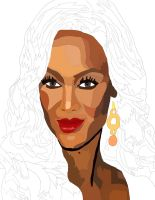 Tyra Banks Pen And Coloer 2 by daylover1313