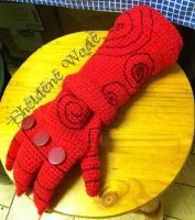 Crochet Right Hand of Doom by Sheeeva
