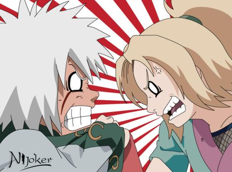 Jiraiya and Tsunade by nijoker