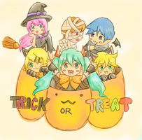 Trick or Treat by ilooovejirachi
