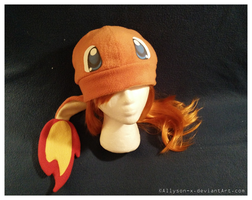 Charmander Hat v3.0 by Allyson-x