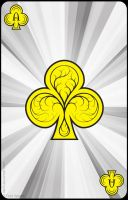 Ace of Clubs by derfs