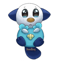 Request: Oshawott by BrownBlurry
