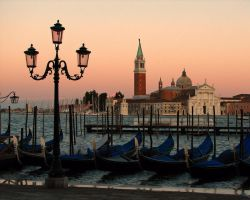 Venice Sunset by swoyer
