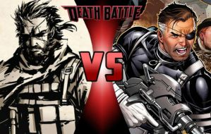 DEATH BATTLE: Big Boss vs Nick Fury by G-Odzilla