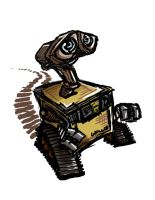 Wall-E by danidipps