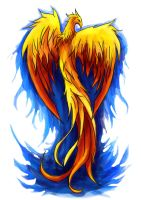 Pheonix Tattoo by xAli-xX