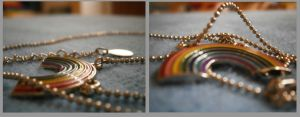 My rainbow necklace by Duchesse2