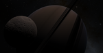 Mimas and Saturn - SE Version by XBrain130
